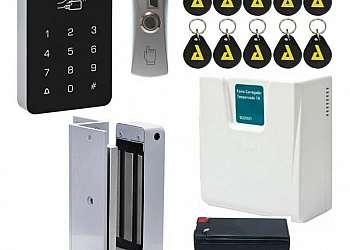 Controle de acesso elevador