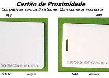 Cartão de proximidade cotar