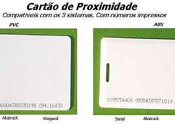Cartão de proximidade revendedor