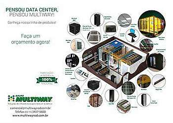 Fabrica de mini data center em sp