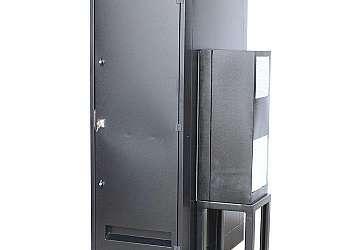 Rack outdoor telecom refrigerado