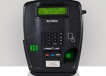 Relogio de ponto com biometria