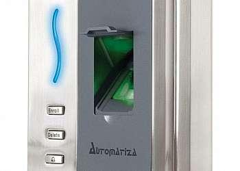 Sistema de controle de acesso biométrico